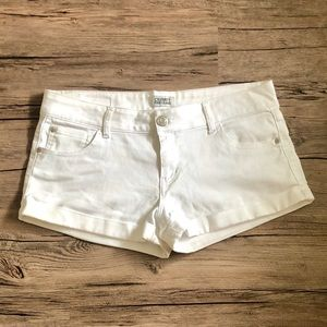 White Cutoff Shorts - Celebrity Pink Jeans